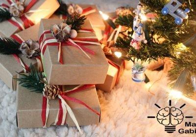 Kalėdinių dovanų pakavimas ManGabis